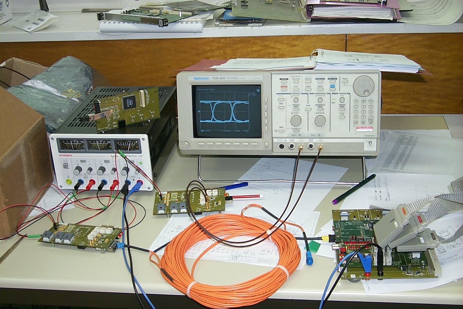 Golproto Electrical Eye Diagram Circuit